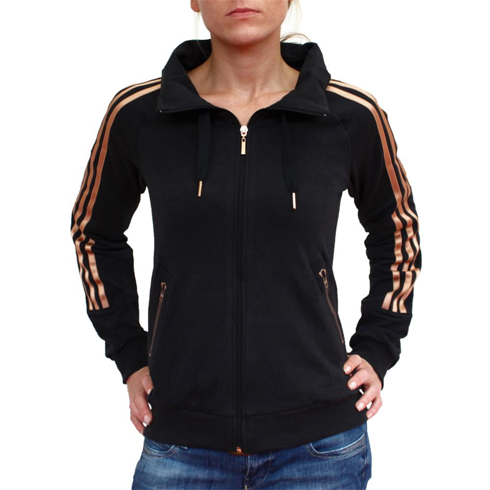 adidas damen af q3 3s tt tracktop zip sweatjacke. Black Bedroom Furniture Sets. Home Design Ideas