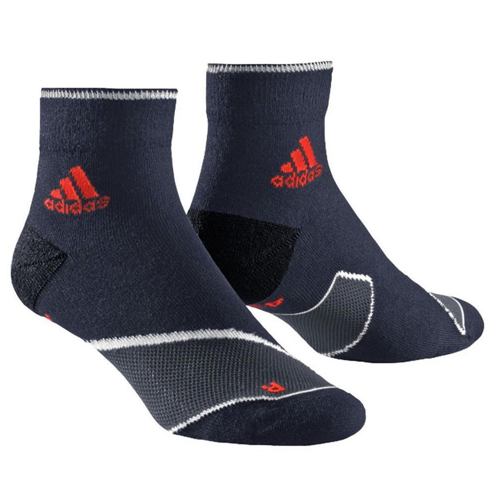 2 paar adidas adizero tc ankle sock laufsocken cushion running socken sportsocke ebay. Black Bedroom Furniture Sets. Home Design Ideas