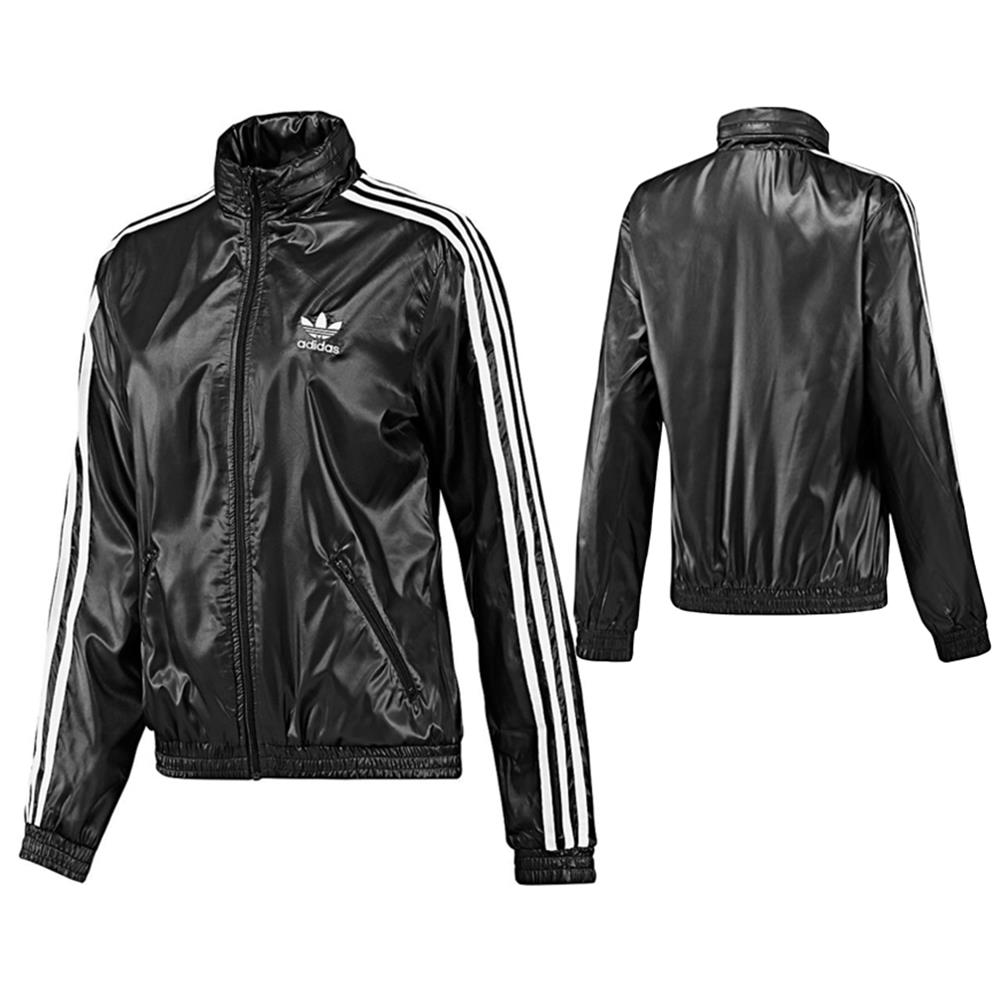 adidas originals damen cr windbreaker jacke windjacke jacket ebay. Black Bedroom Furniture Sets. Home Design Ideas