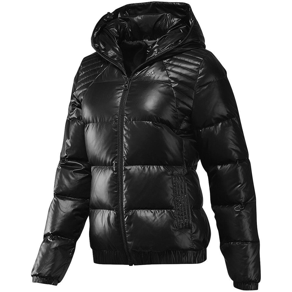 adidas entry bomber down damen jacke winterjacke. Black Bedroom Furniture Sets. Home Design Ideas