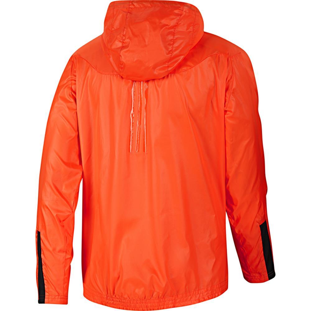 adidas f50 sytle windbreaker climaproof jacket warning orange ebay. Black Bedroom Furniture Sets. Home Design Ideas
