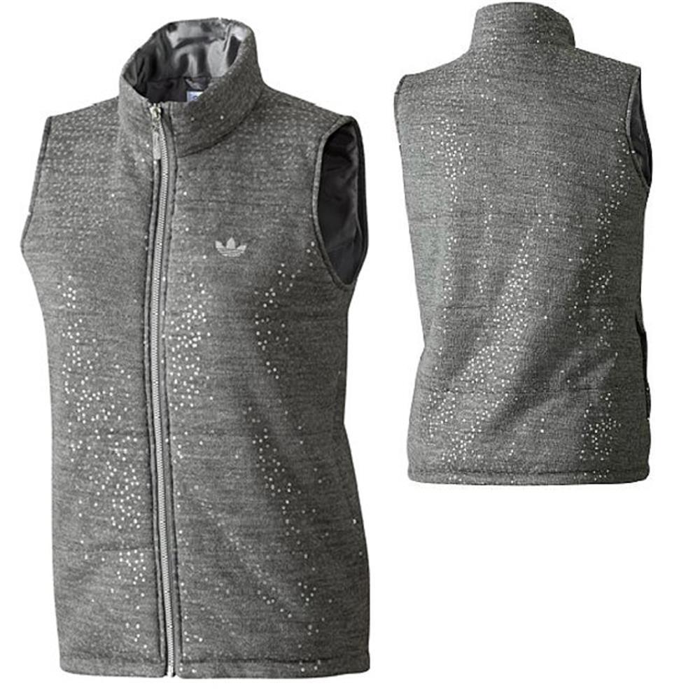 adidas damen originals f night vest padded weste jacke ebay. Black Bedroom Furniture Sets. Home Design Ideas