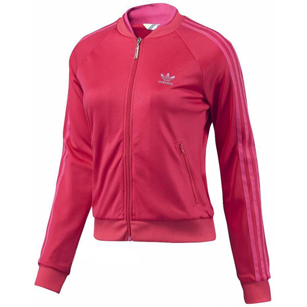 adidas s supergirl tt trainingsjacke damen jacke pink ebay. Black Bedroom Furniture Sets. Home Design Ideas