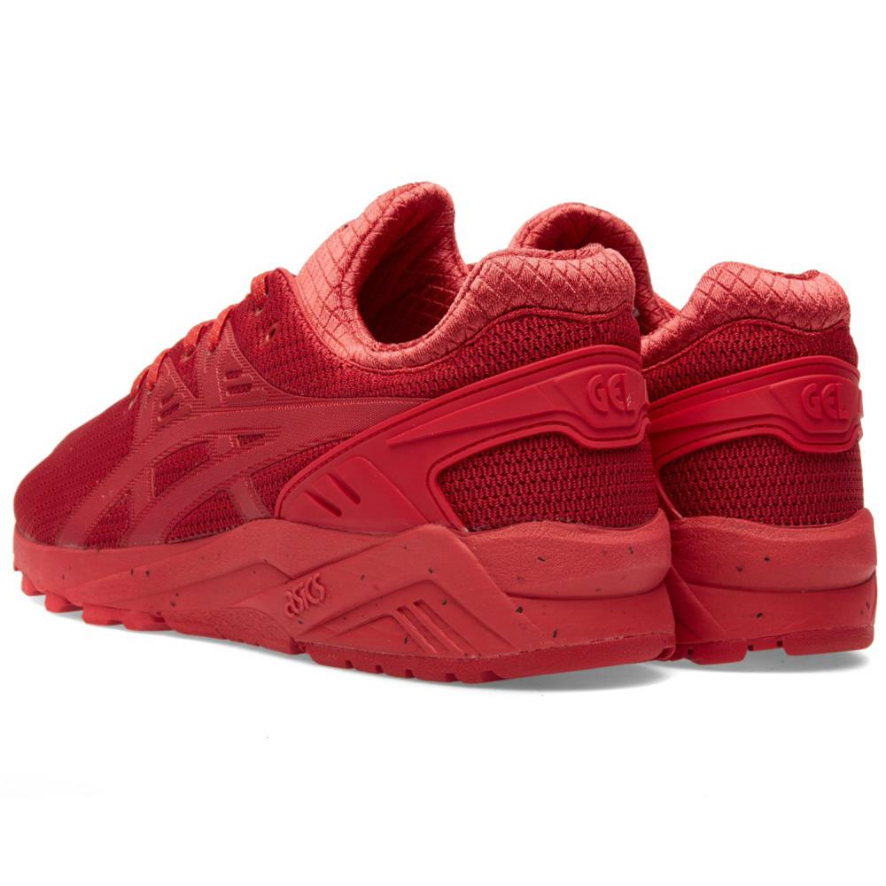 Asics Gel Kayano Evo Shoes Trainers Red Size