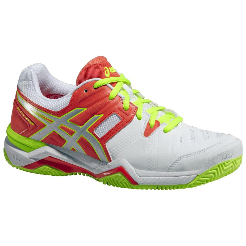 asics gel challenger 10 clay court damen tennisschuhe tennis schuhe sandplatz ebay. Black Bedroom Furniture Sets. Home Design Ideas