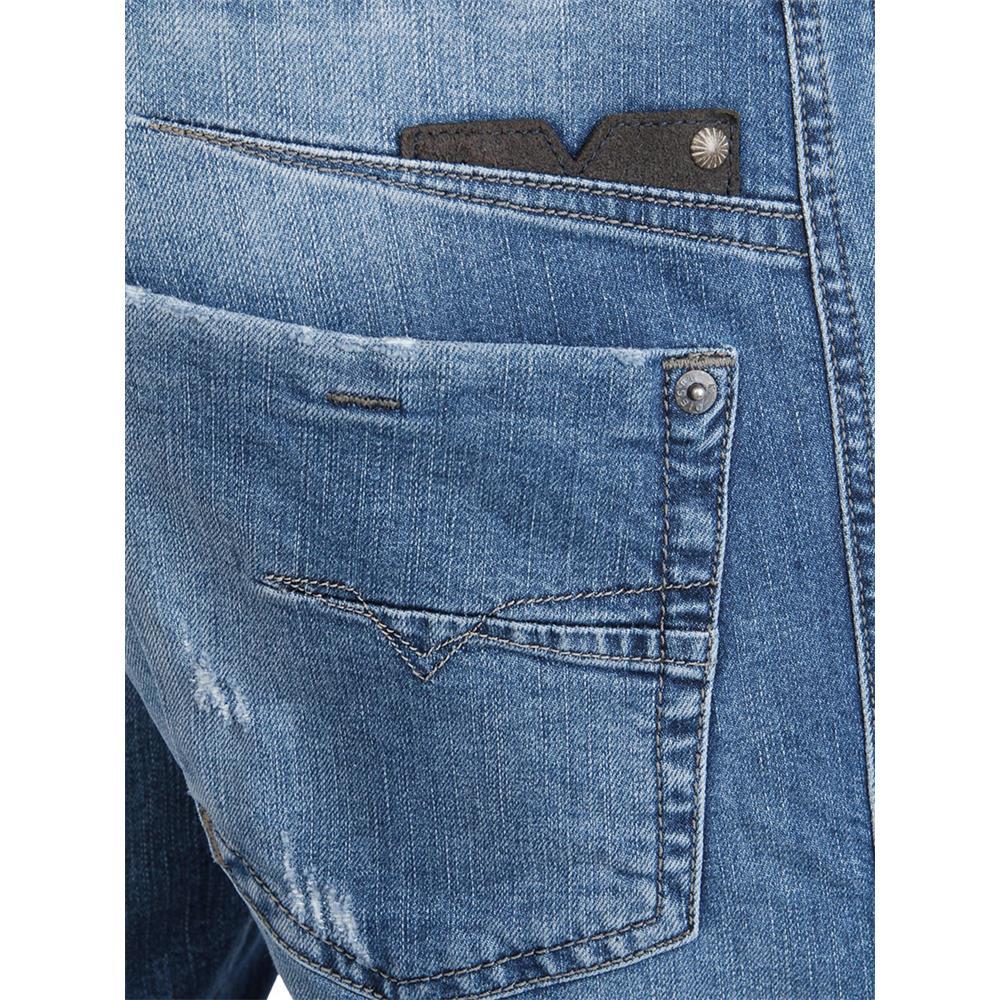 Diesel-Jeans-Darron-Regular-Slim-Tapered-Vaqueros-Hombre-Denim-Ajustado