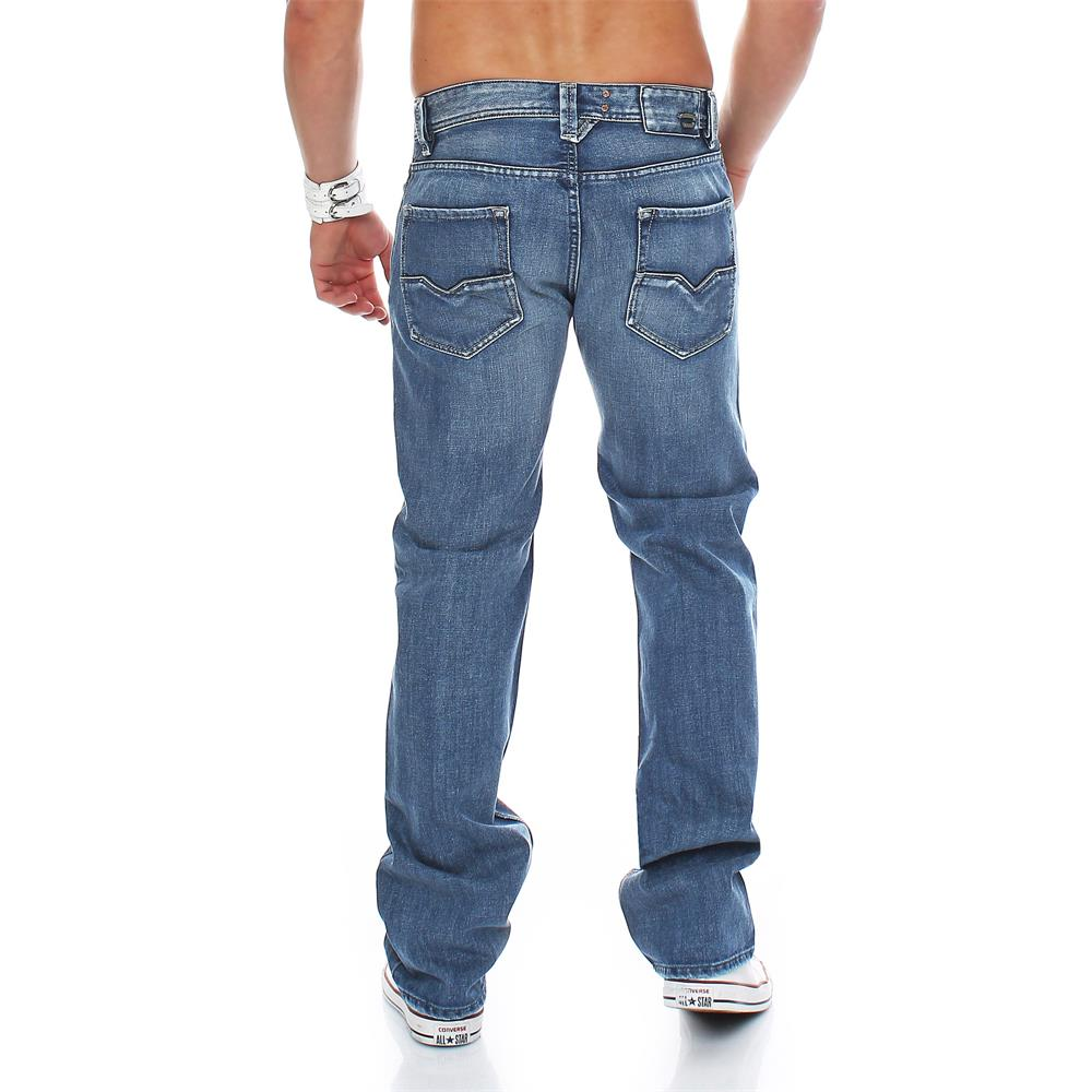 Diesel Larkee 008AT 8AT jeans regular straight mens jeans mens denim pants | eBay
