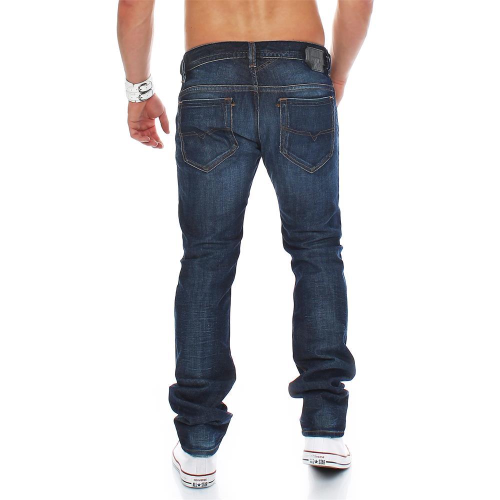 diesel jeans thavar 0806u slim skinny mens jeans slim fit