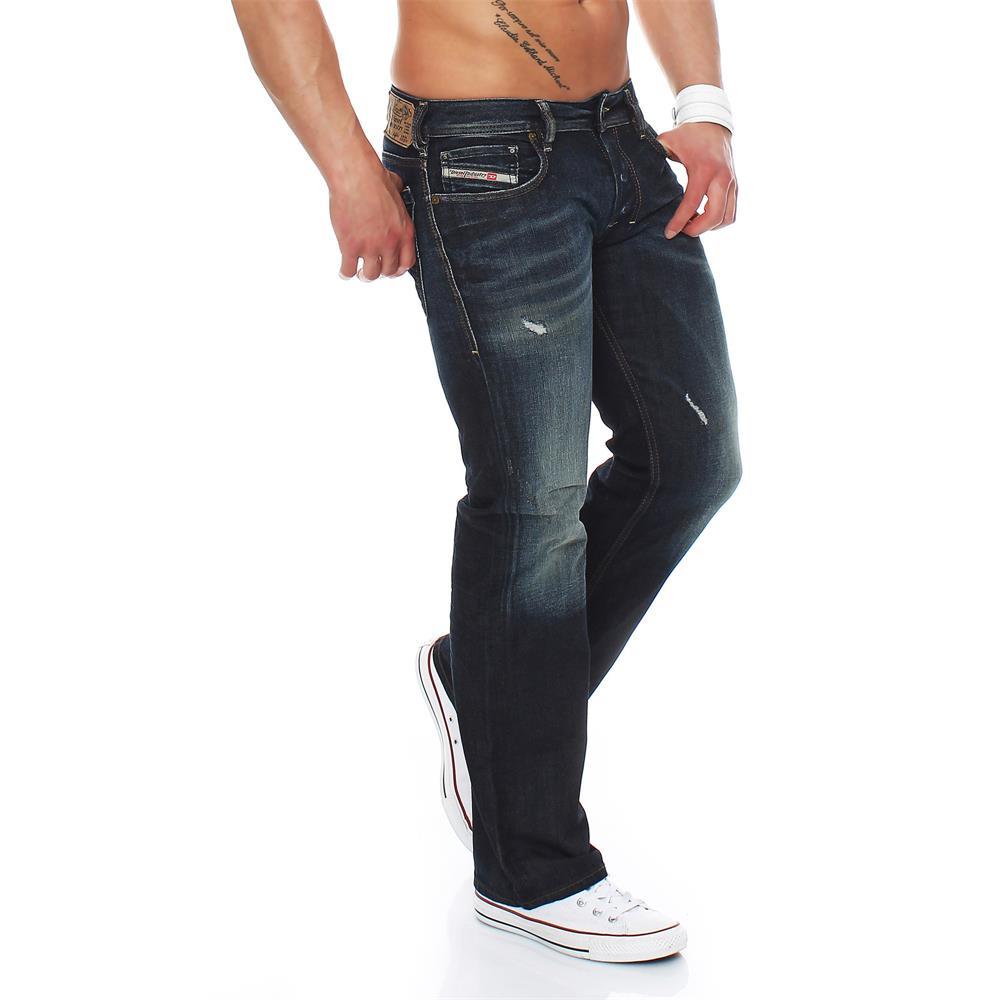 diesel zatiny jeans regular bootcut herrenjeans herren. Black Bedroom Furniture Sets. Home Design Ideas