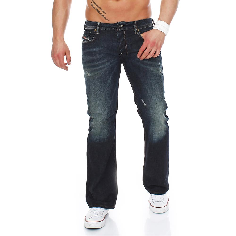 diesel zatiny jeans regular bootcut herrenjeans herren denim hose ebay. Black Bedroom Furniture Sets. Home Design Ideas