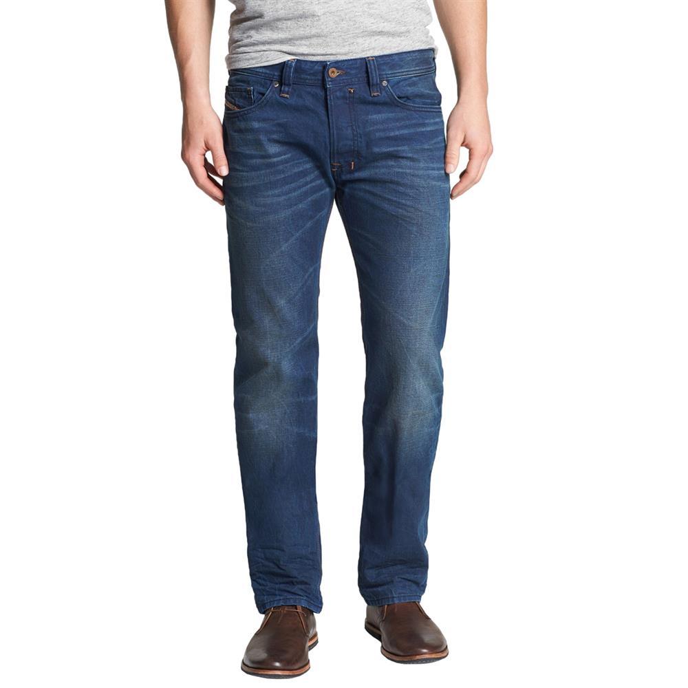 diesel safado 0815a jeans regular slim straight jeans. Black Bedroom Furniture Sets. Home Design Ideas