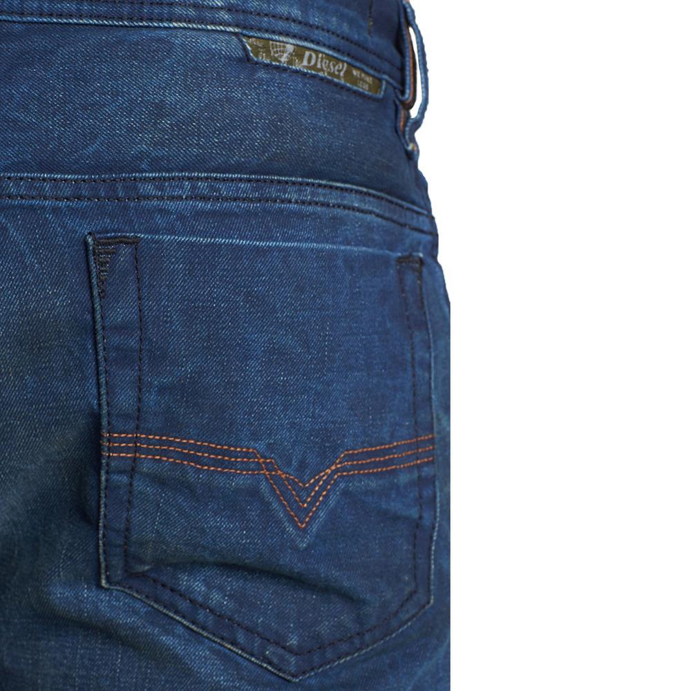 diesel safado 0815a jeans regular slim straight jeans homme hommes pantalon bleu ebay. Black Bedroom Furniture Sets. Home Design Ideas