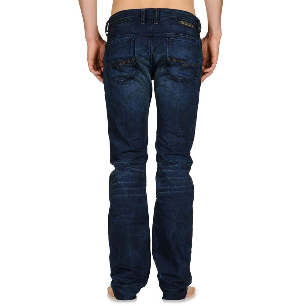 diesel safado 0815a jeans regular slim straight jeans homme hommes pantalon bleu ebay. Black Bedroom Furniture Sets. Home Design Ideas