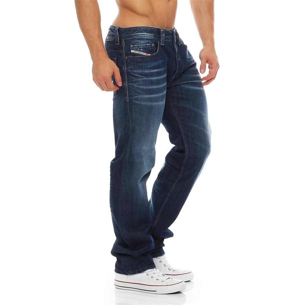 Pantaloni-DIESEL-safado-0833N-jeans-regolari-slim-linea-uomo-diritto-jeans-denim