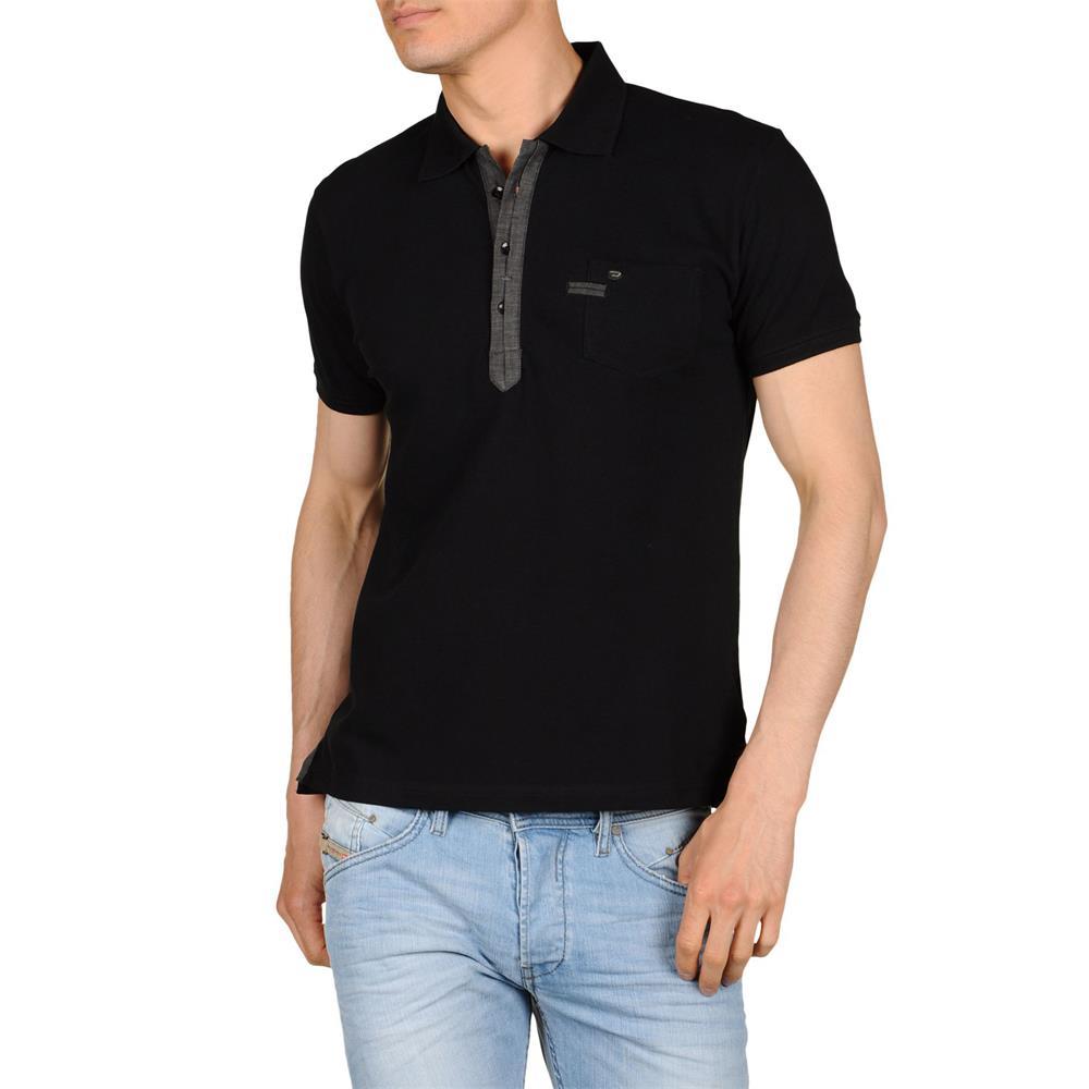 diesel admiral s poloshirt herren polo shirt t shirt kurzarm polohemd. Black Bedroom Furniture Sets. Home Design Ideas