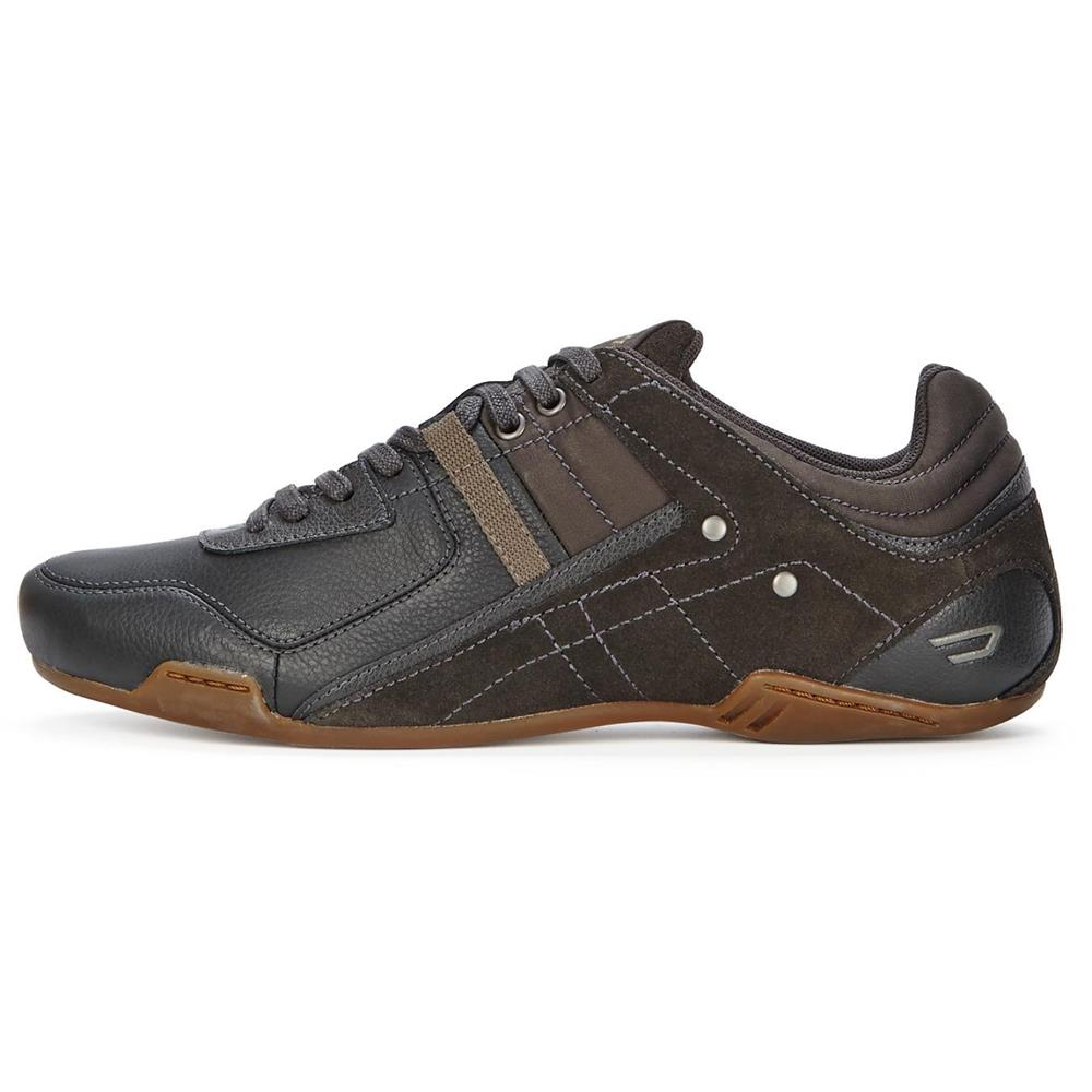 DIESEL Trackkers Korbin S casual mens leather shoes ...