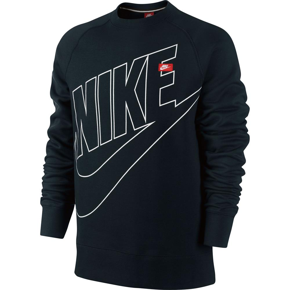 Nike ACE fleece logo crew neck Sweatshirt crew neck jumper sweater ...