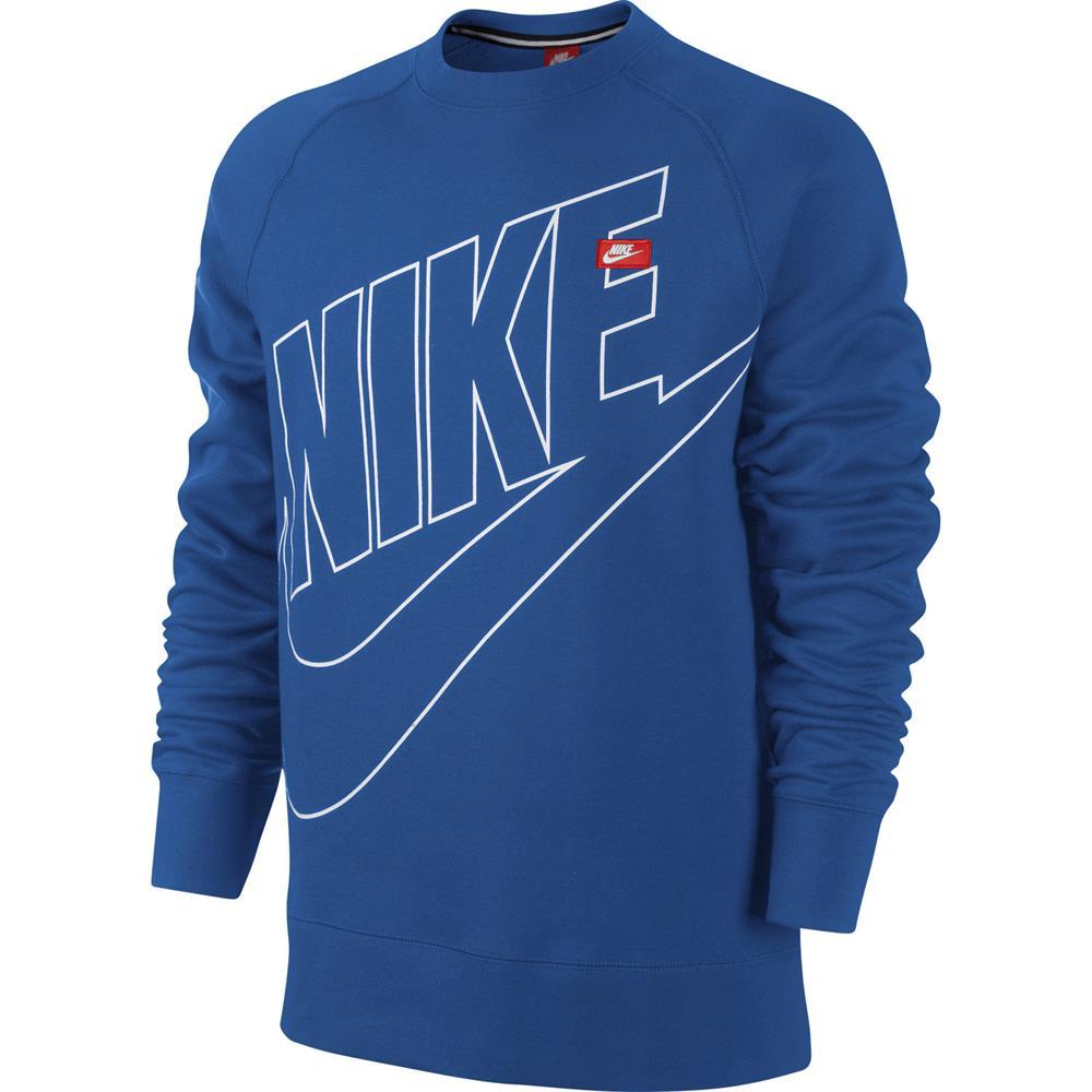 Nike-ACE-camiseta-polar-insignia-de-cuello-redondo-sudadera-jumper-Jersey