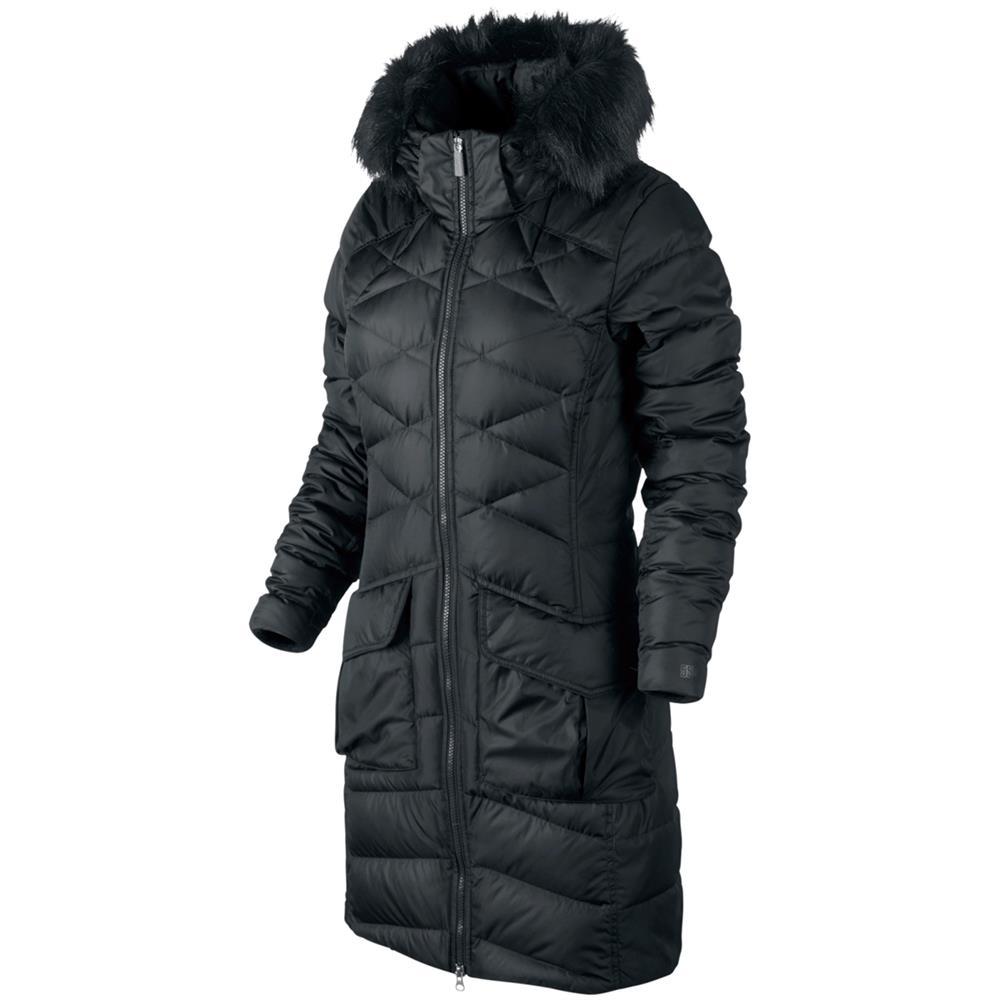 nike alliance 550 hooded parka womens down jacket ladies. Black Bedroom Furniture Sets. Home Design Ideas