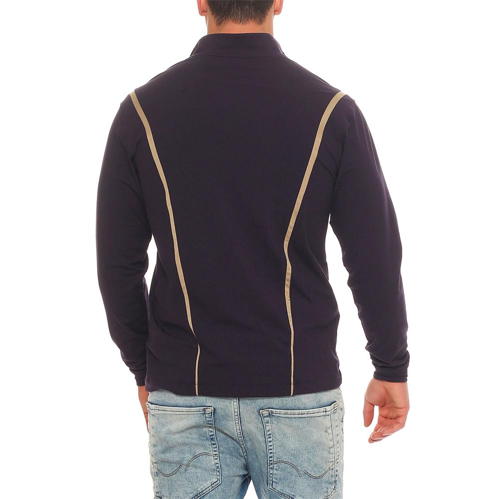 Nike golf strech long sleeve dri fit sweater 348553 ebay for Under armour dri fit long sleeve shirts