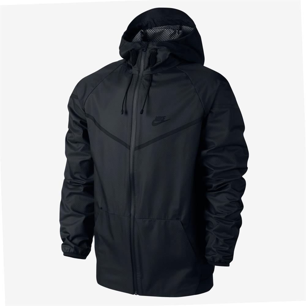 nike windrunner tech laminated mesh hoodie windjacke hoody. Black Bedroom Furniture Sets. Home Design Ideas