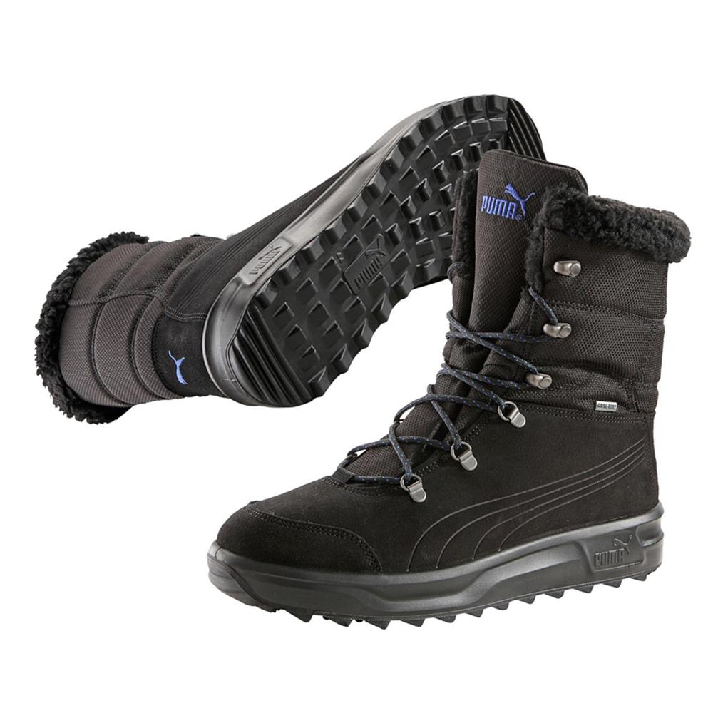 puma caminar iii shearling gtx gore tex herren damen stiefel winterstiefel ebay. Black Bedroom Furniture Sets. Home Design Ideas