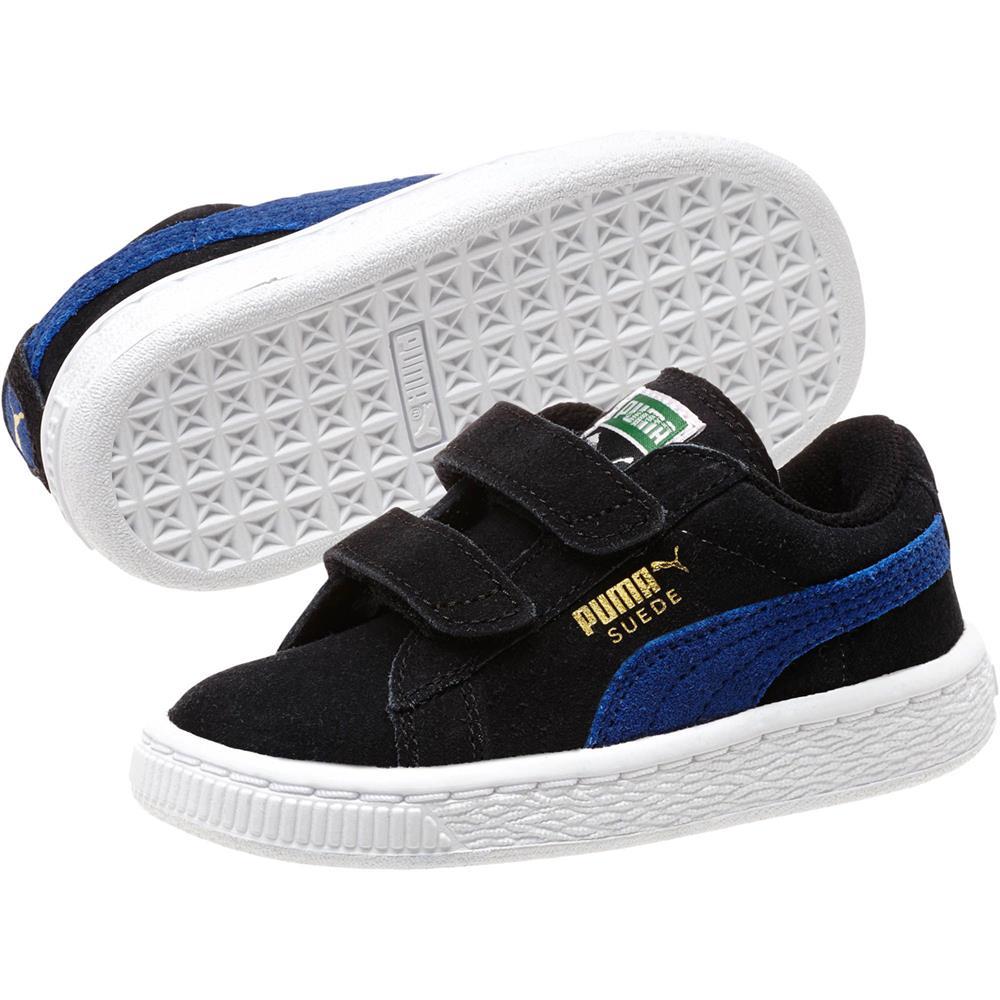 puma classic suede 2 straps kids kinder sneaker schuhe turnschuhe kinderschuhe ebay. Black Bedroom Furniture Sets. Home Design Ideas