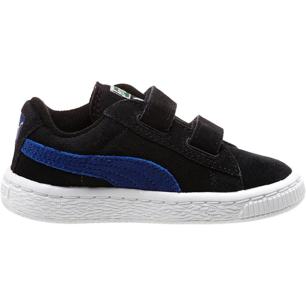 puma classic suede 2 straps kids enfants sneaker chaussures tennis enfants. Black Bedroom Furniture Sets. Home Design Ideas