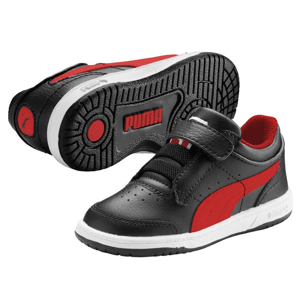 puma full court lo v schuhe kinder sneaker turnschuhe kinderschuhe sportschuhe ebay. Black Bedroom Furniture Sets. Home Design Ideas