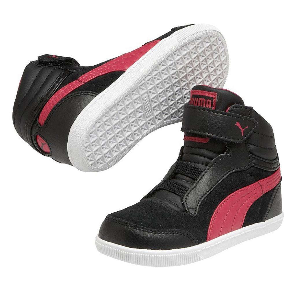 Puma-Glyde-Court-V-Hi-Zapatilla-Deportiva-Sneaker-Nino-Zapatos-Deporte-Gimnasia