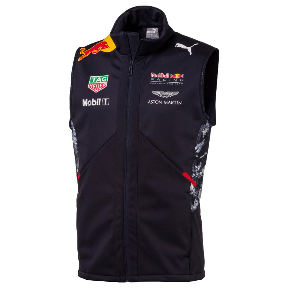 Puma-Red-Bull-Racing-Gilet-Weste-Official-Team-F1-Herren-Formel-1-Jacke