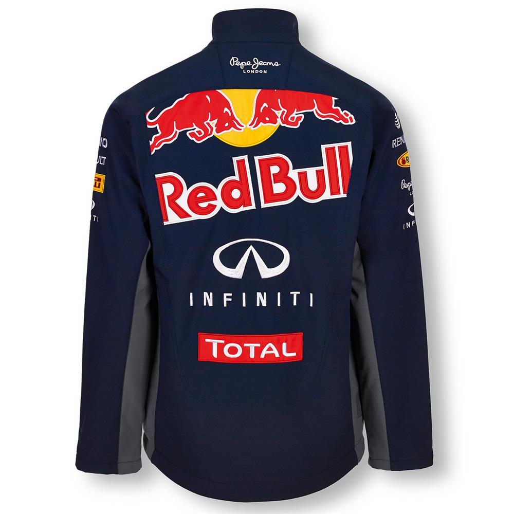 pepe jeans red bull racing official teamline f1 mens softshell jacket ebay. Black Bedroom Furniture Sets. Home Design Ideas