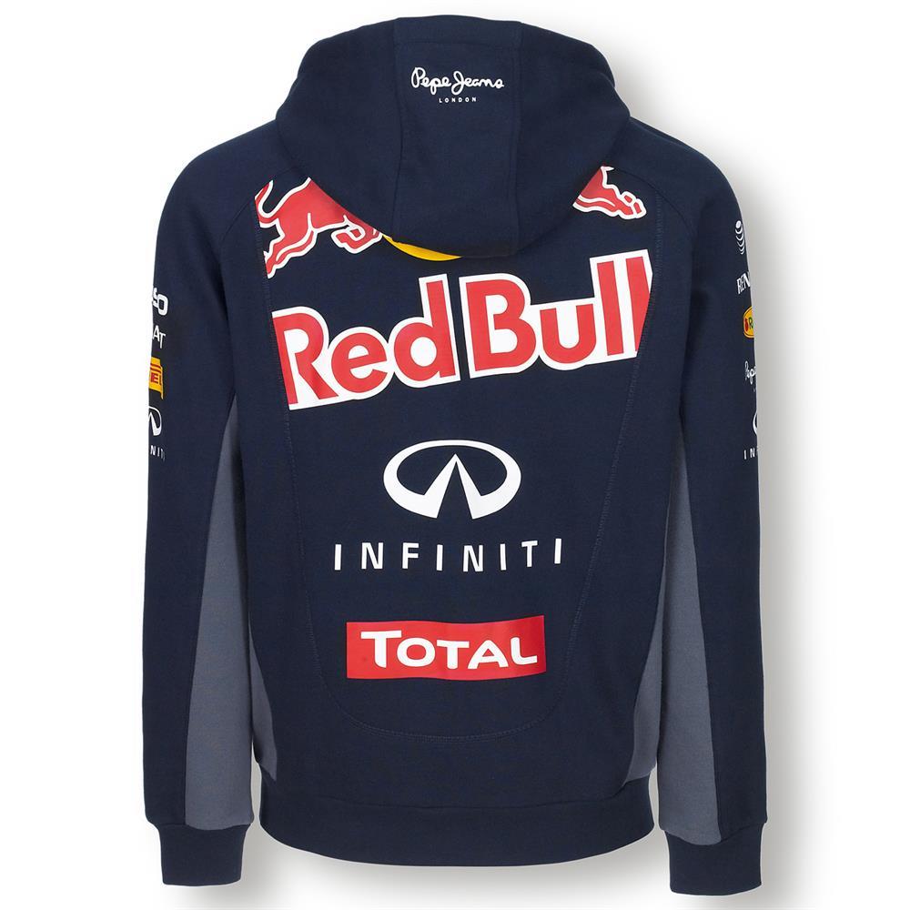 pepe jeans red bull racing official f1 teamline zip hoodie. Black Bedroom Furniture Sets. Home Design Ideas