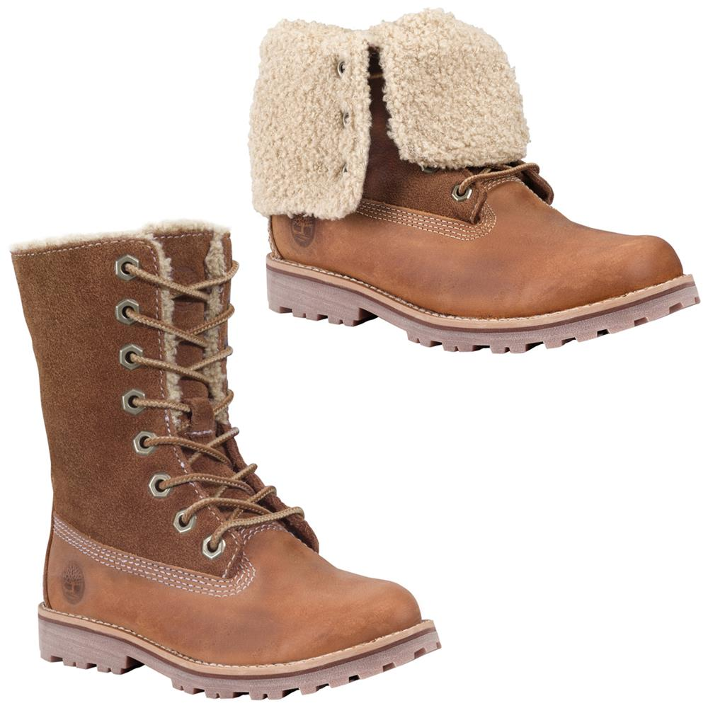 timberland auth 6 inch shearling kinder stiefel boot winterstiefel kinderstiefel ebay. Black Bedroom Furniture Sets. Home Design Ideas