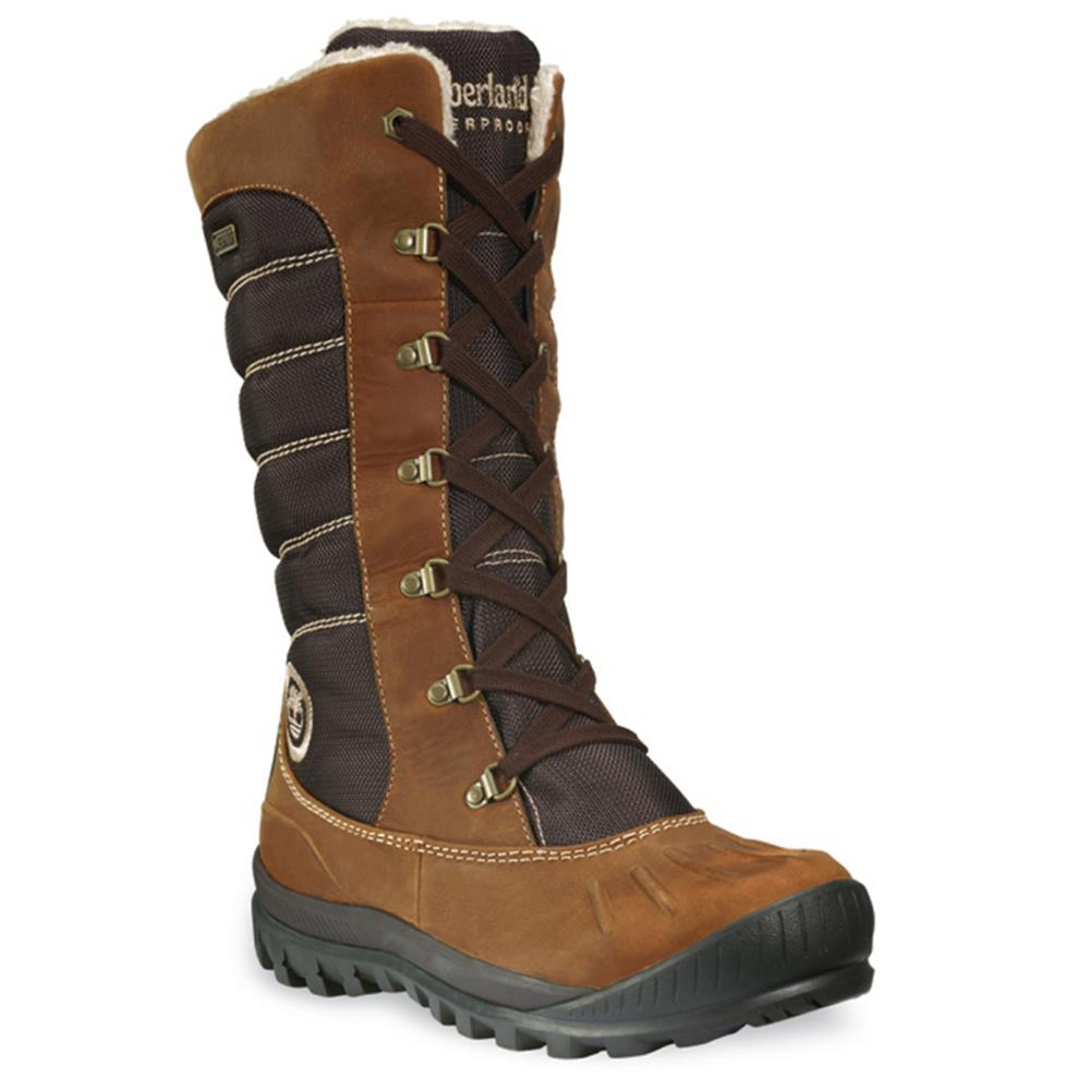 Timberland Ladies EK Mount Holly Tall Duck Boots Winter