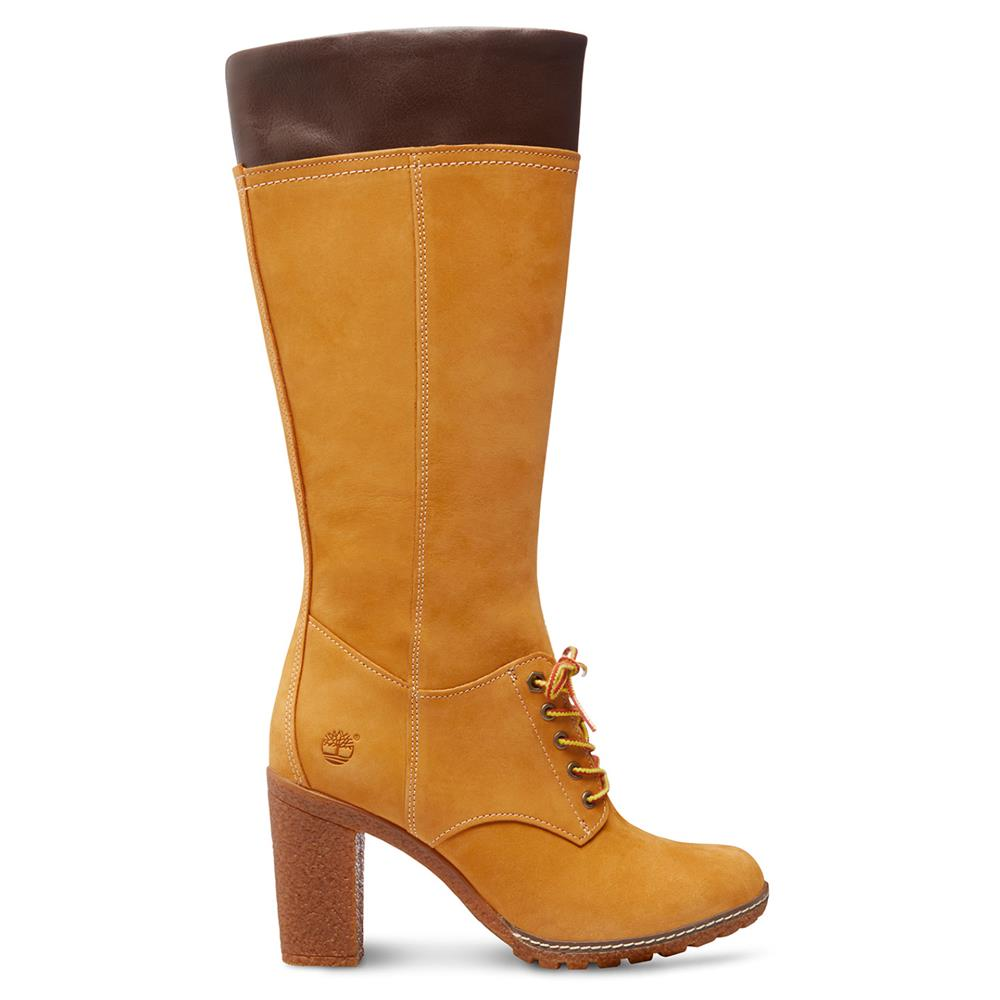 Timberland Glancy tall lace 14 034 inch boots