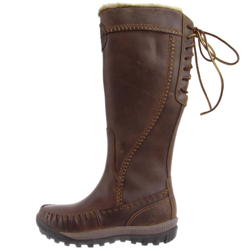 Timberland Mount Holly Tall Leather Zip Women's Boots