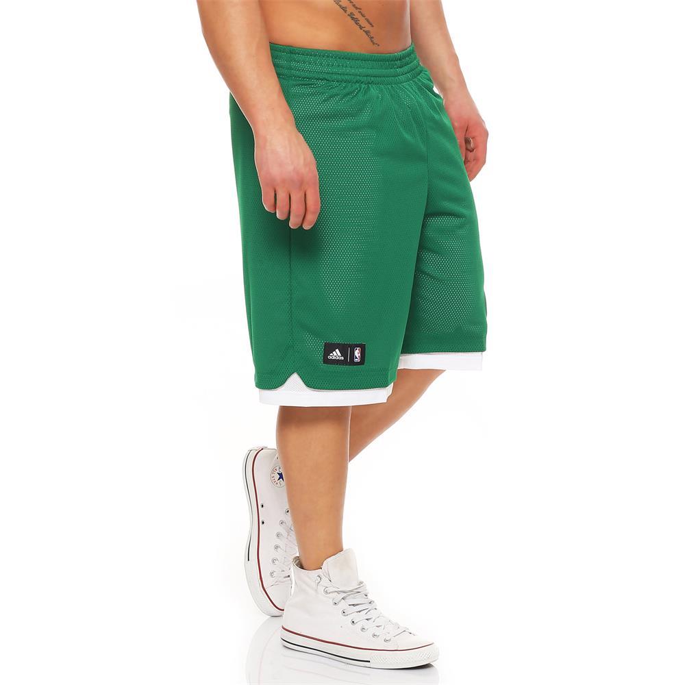 adidas boston celtics nba team basketball shorts kurze hose ebay. Black Bedroom Furniture Sets. Home Design Ideas