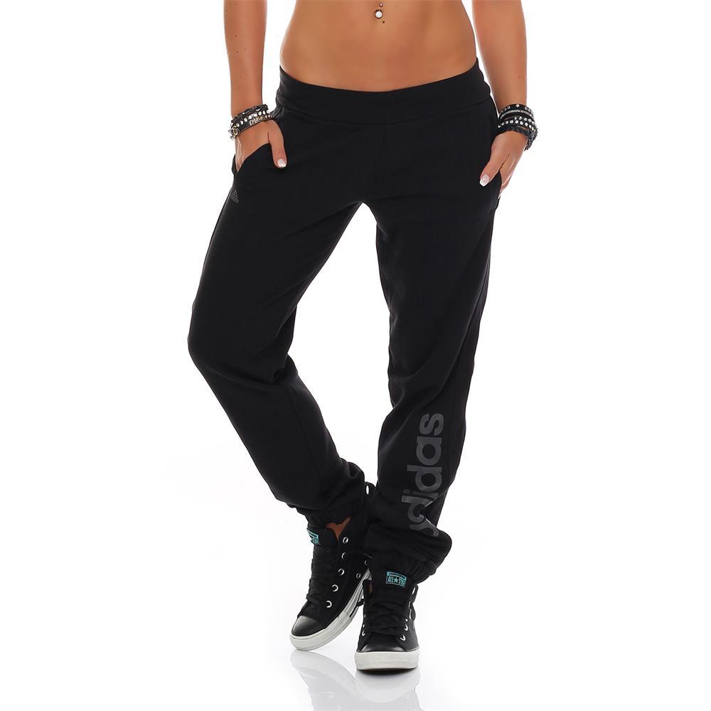 adidas ess brd damen trainingshose essentials branded. Black Bedroom Furniture Sets. Home Design Ideas