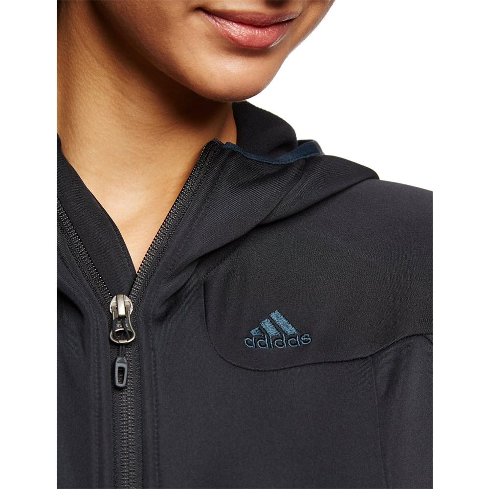 chaqueta-Adidas-de-exterior-sudadera-mujer-capucha-forro-polar