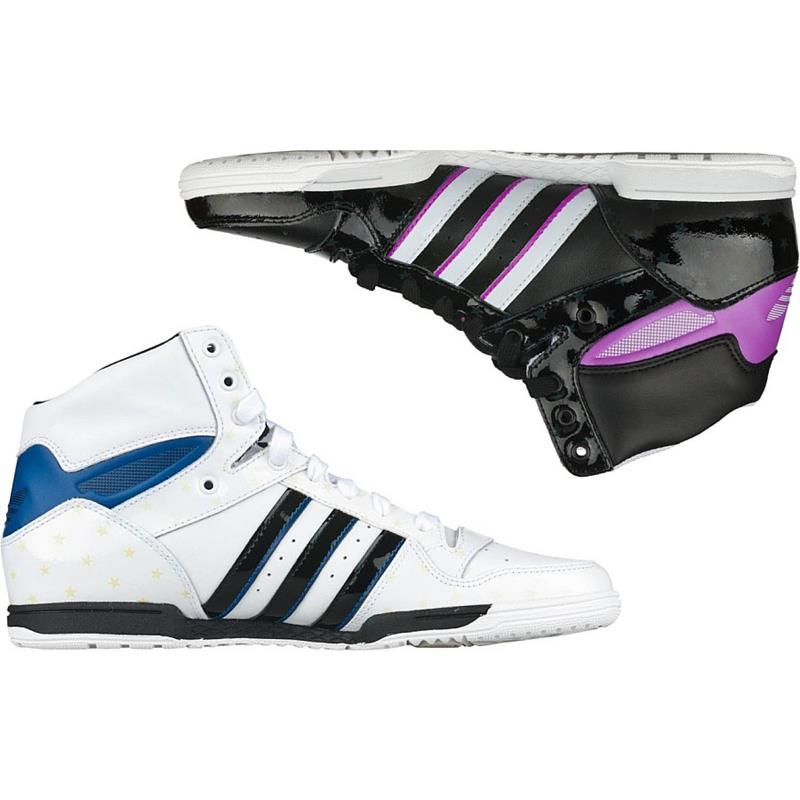 adidas attitude sleek w hi top damen leder schuhe sneaker ebay. Black Bedroom Furniture Sets. Home Design Ideas