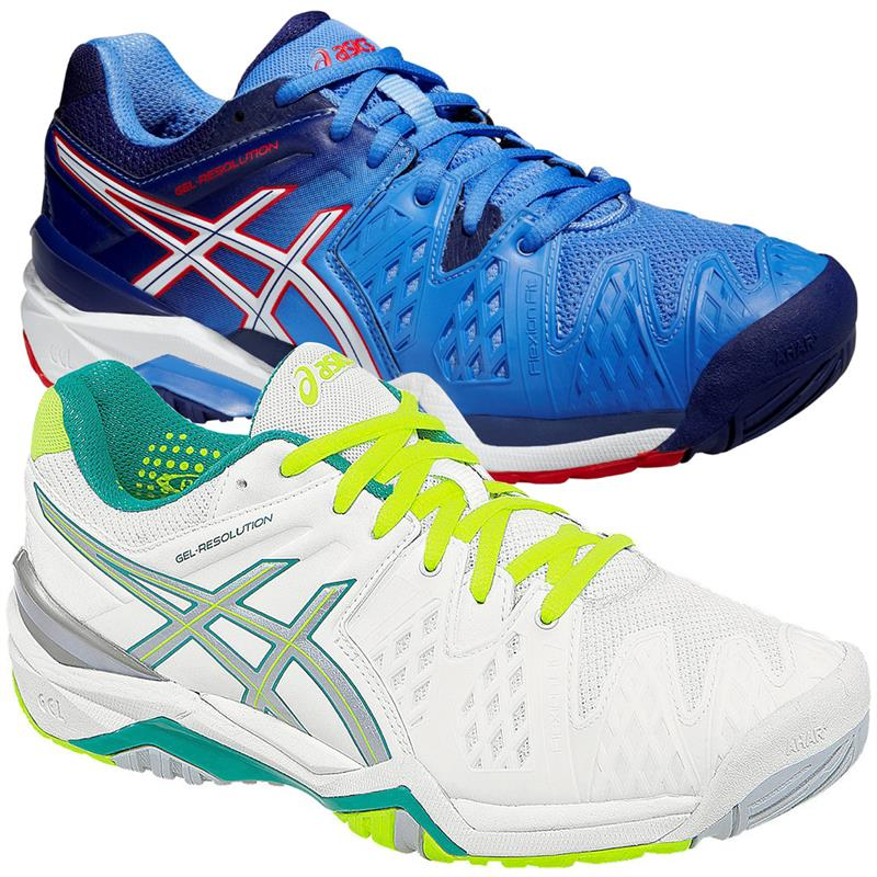 asics gel resolution 6 all court women 39 s tennis shoes trainers ebay. Black Bedroom Furniture Sets. Home Design Ideas