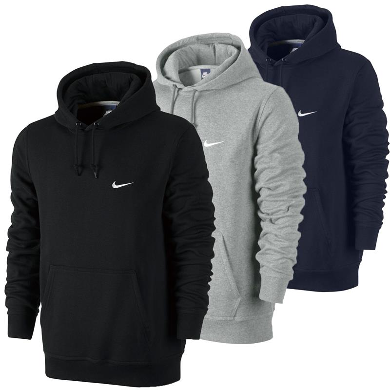 nike swoosh club hoody fleece herren classic sweatshirt hoodie kapuzenpullover ebay. Black Bedroom Furniture Sets. Home Design Ideas
