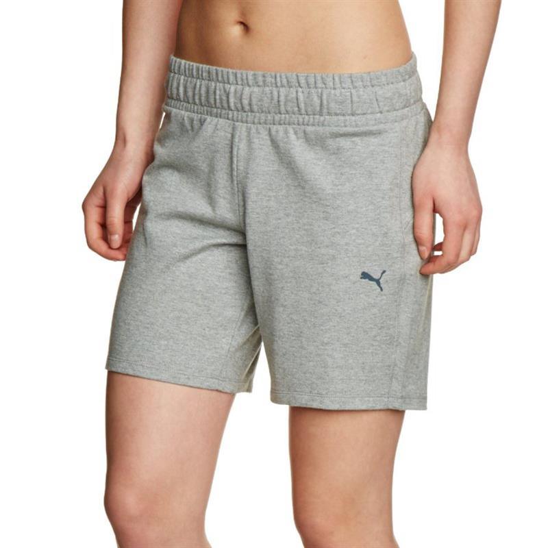 puma ess sweat shorts ladies essential short pants. Black Bedroom Furniture Sets. Home Design Ideas