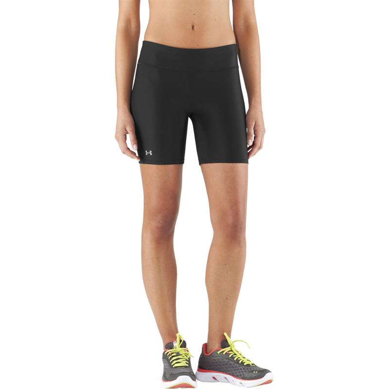 under armour hg authentic long short women 39 s shorts. Black Bedroom Furniture Sets. Home Design Ideas