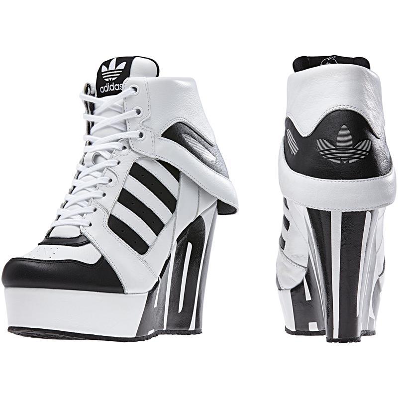 Wedges Trainer Black Shoes High Heels