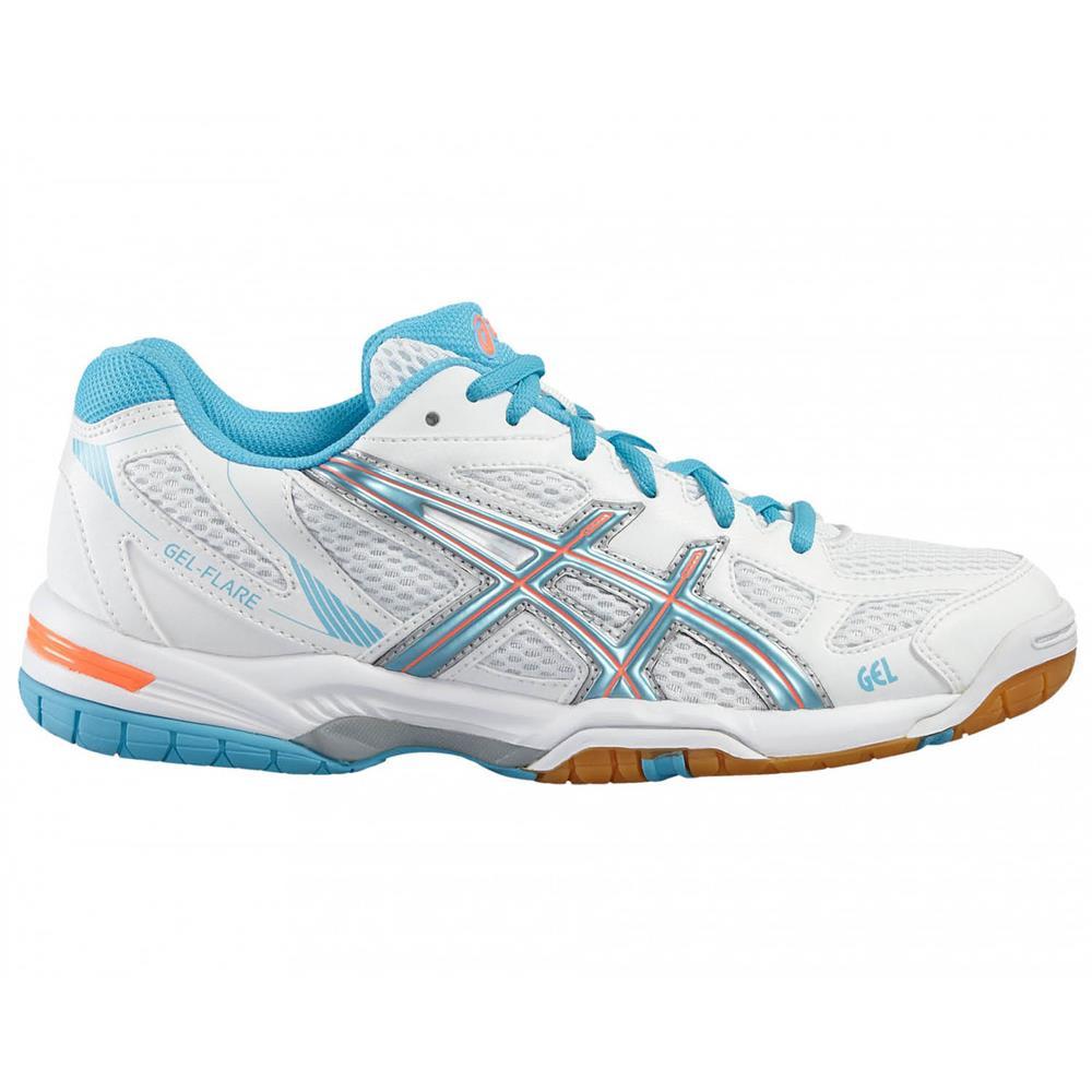 Asics-Gel-Flare-5-Hallenschuhe-Volleyballschuhe-Badmintonschuhe-Schuhe-Turnschuh Indexbild 8