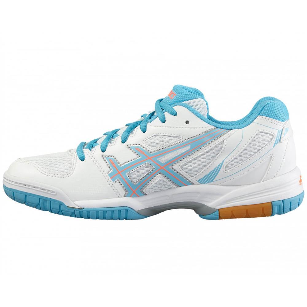 Asics-Gel-Flare-5-Hallenschuhe-Volleyballschuhe-Badmintonschuhe-Schuhe-Turnschuh Indexbild 9