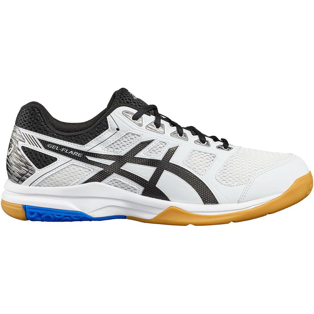 Asics-Gel-Flare-6-Hallenschuhe-Volleyballschuhe-Badmintonschuhe-Schuhe-Turnschuh Indexbild 3