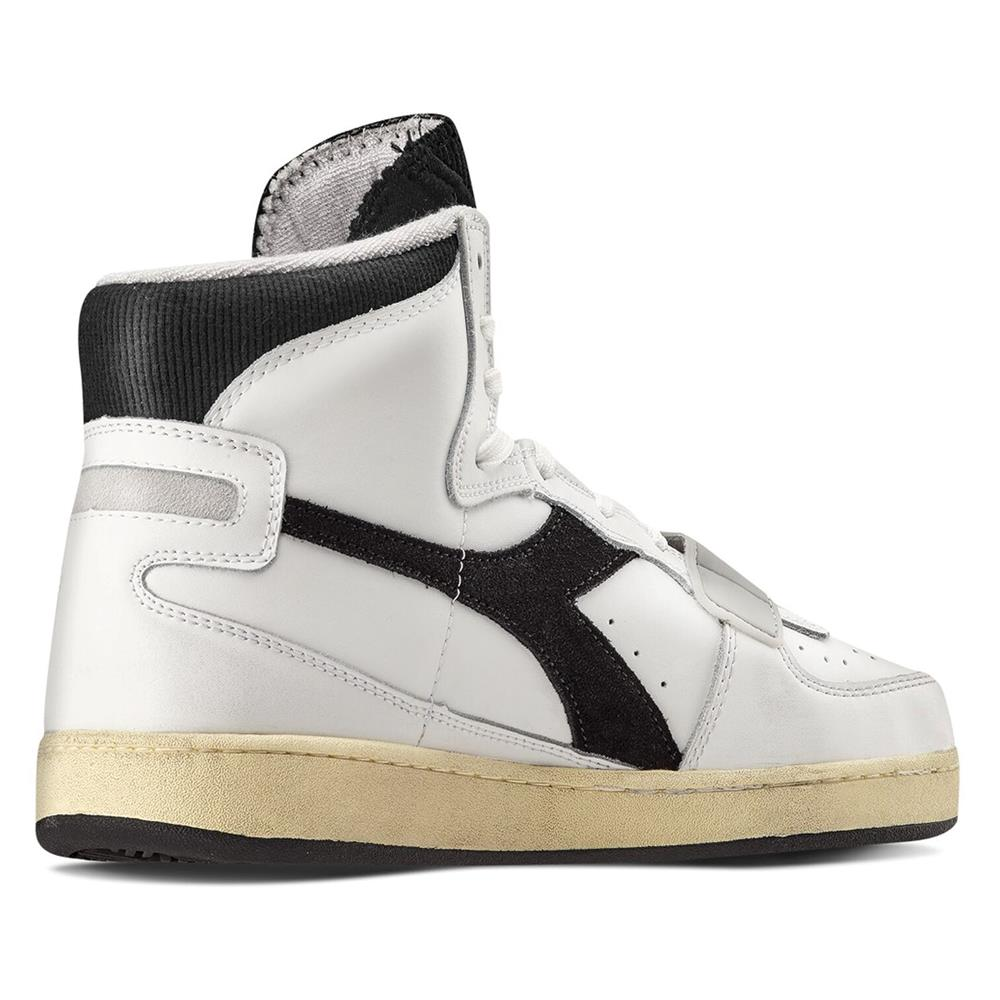 Indexbild 9 - Diadora MI Basket Used Herren Hi Top Sneaker Sportschuhe Turnschuhe